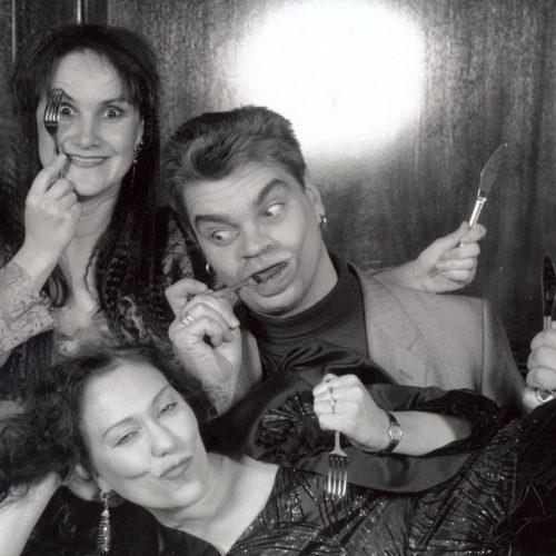 Teatteri Gorgo Herkullista Kabaree Tiina, Jussi, Sirpa 1995.