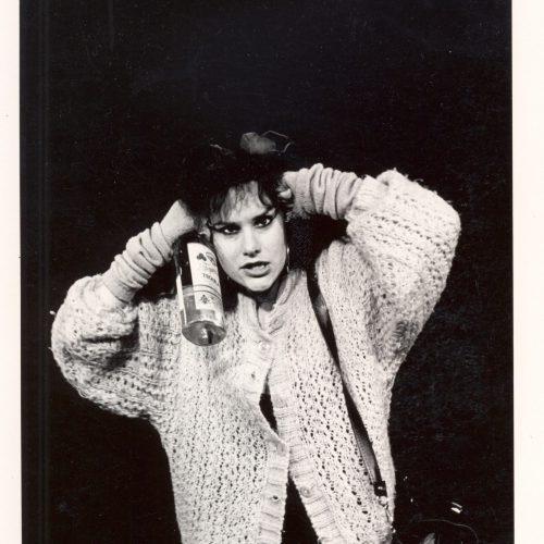 Veijari sooloesitys Teatteri Jurkka 1988.